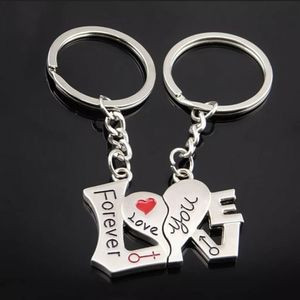 New 2pc LOVE Keychain. For you and your boo.